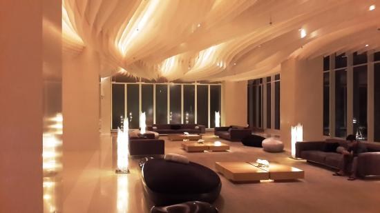 Hilton Pattaya: The lounge at 16 th floor