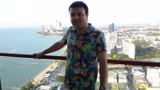 Hilton Pattaya: View from the executive lounge