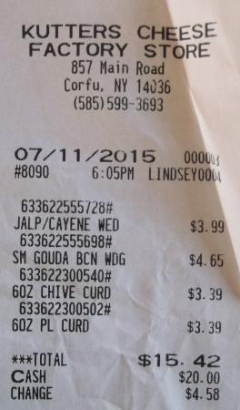 Corfu, Νέα Υόρκη: $15.42