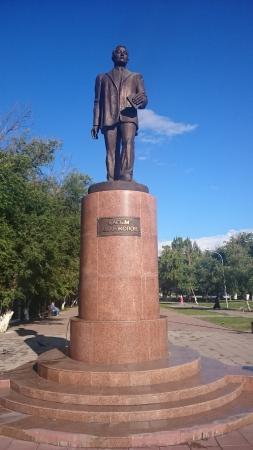 Monument Kasym Amanzholov