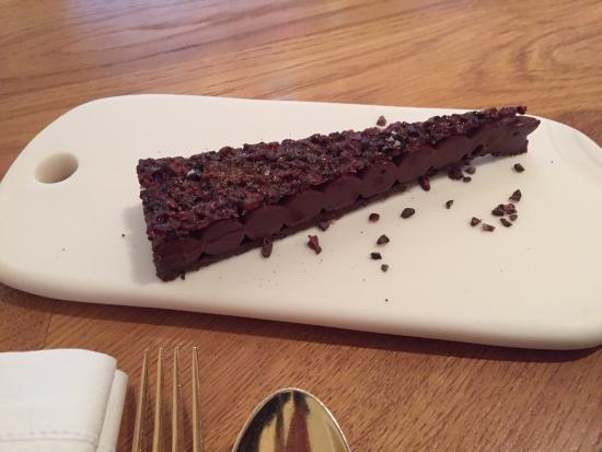 Alain Ducasse au Plaza Athenee: Chocolat et café, sarrasin torréfié