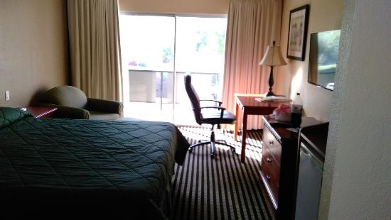 Rodeway Inn : Looking in the room