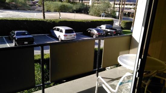 Royal Sun Inn: The balcony