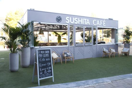Terraza Cubierta Exterior Picture Of Sushita Cafe
