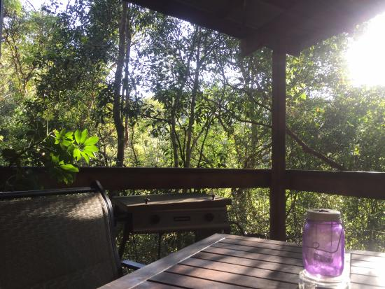 Hunchy Hideaway: veranda