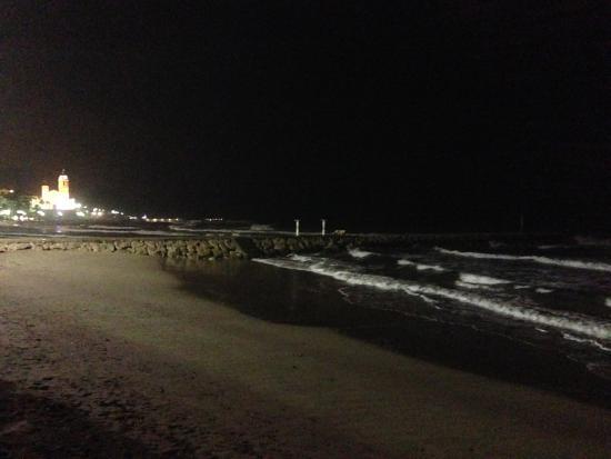 Playa de Sausalito: Sausalito beach night view