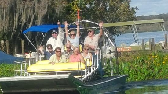 Swamp Fever Airboat Adventures (Lake Panasoffkee) - UPDATED