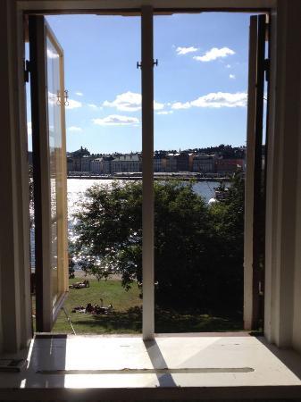 Hostel af Chapman: 本館のキッチンの窓からの眺め〜すばらしい