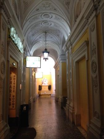 Hotel Dolomiti: ingresso signorile