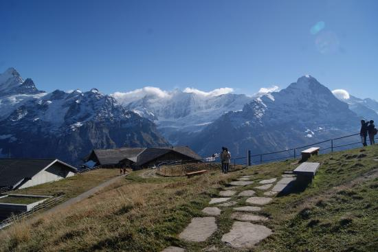 Grindelwald, سويسرا: Up at the top of First