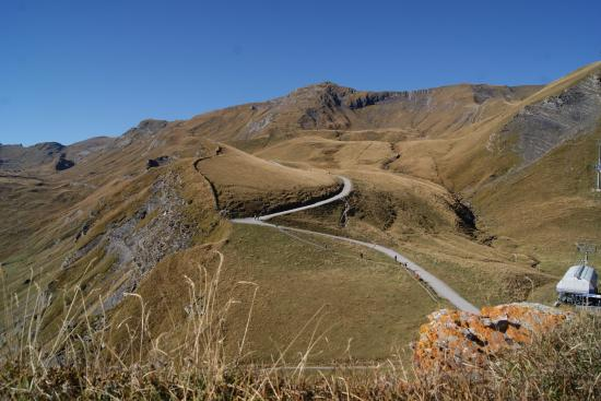 Grindelwald, سويسرا: Walking trail at the First