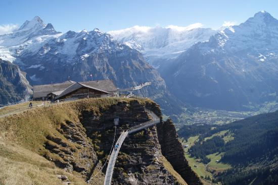 Grindelwald, Suiza: First Cliff Walk