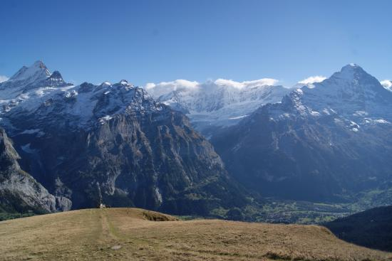 Grindelwald, Suiza: Up at the First