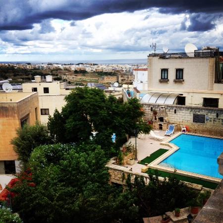San Gwann, Malta: View from female dormitory