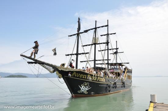 Canasvieiras, SC: Aventura Pirata