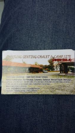 Tanjung Genting Chalet & Camp Site