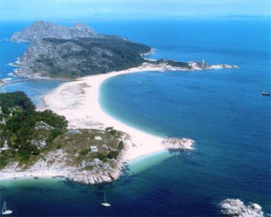 playa de rodas isole cies galizia