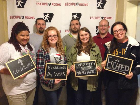 North Little Rock, AR: They escaped!