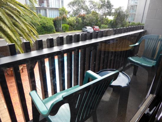Auckland Rose Park Hotel: Balcony of room 230