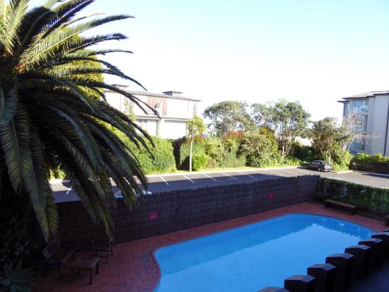 Auckland Rose Park Hotel: Outdoor pool