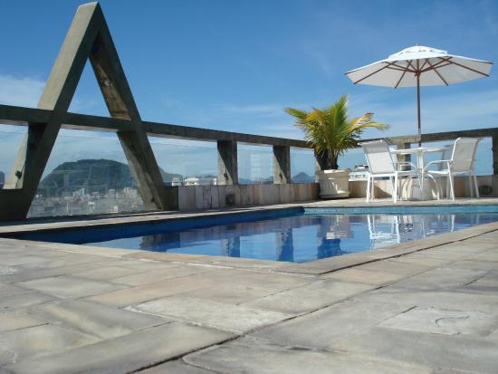 Augusto's Copacabana Hotel: Piscina