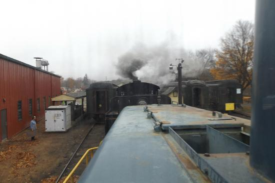 Essex, CT: Diesel Locomotive Meets Steam Engine