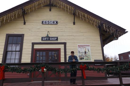 Essex, CT: Train Station