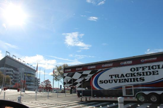 Entrada Picture Of Charlotte Motor Speedway Concord