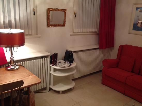 Eilenau Hotel: extra sitting room