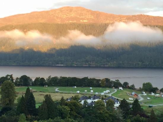 The Craigdarroch Inn : View from bedroom