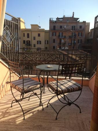 Fh Grand Hotel Palatino Balcony Of Room 803 Rome