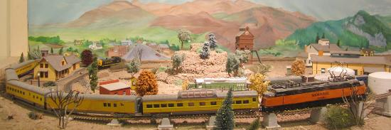 Deer Lodge, MT: Model Railroad