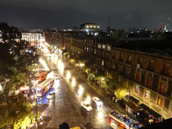 Hostel Mundo Joven Catedral: Вид с террасы