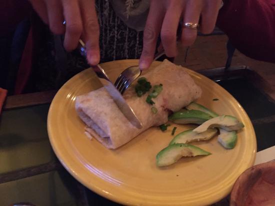 Del Mar, CA: Burrito polpo