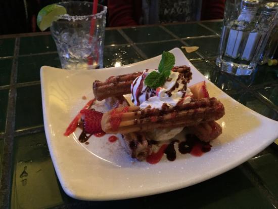 En Fuego Cantina & Grill: Gelato e ciurritos