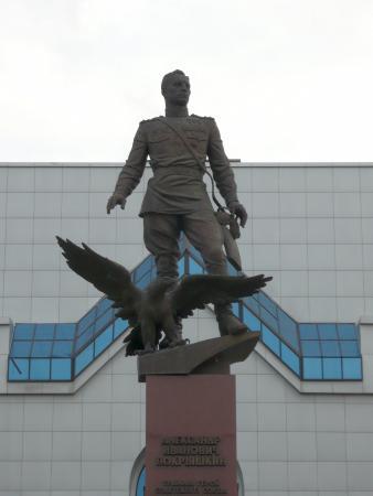памятник покрышкину в новосибирске фото