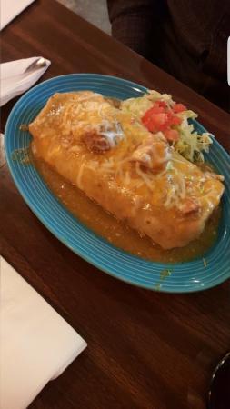 Reedley, Californien: Chile verde burrito