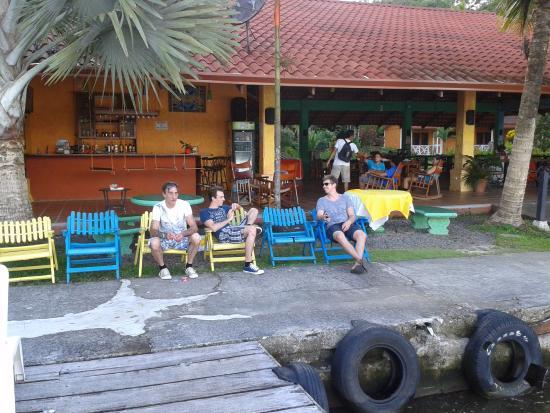La Baula Lodge: Terras