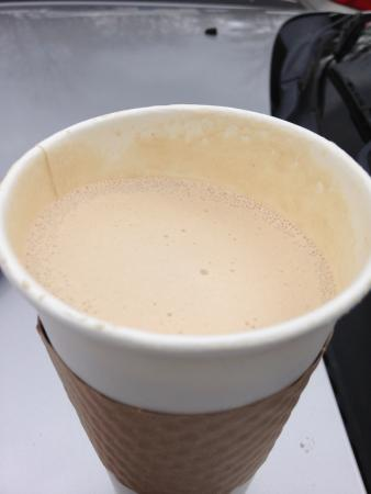 Columbus, Kuzey Carolina: Chai Tea Latte . . .