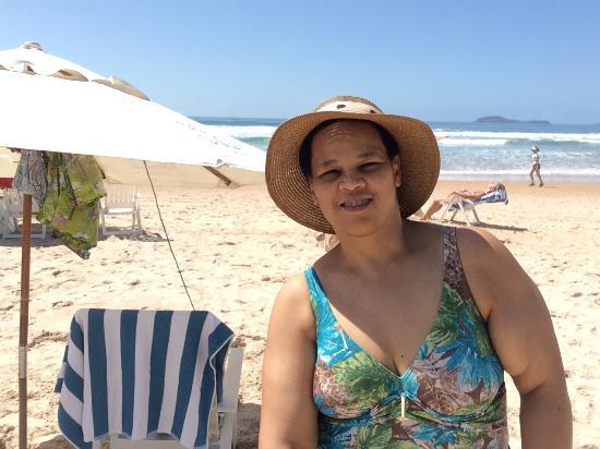 Pegando sol que resolveu aparecer - Foto de Praia De Geribá 4a65e220d47