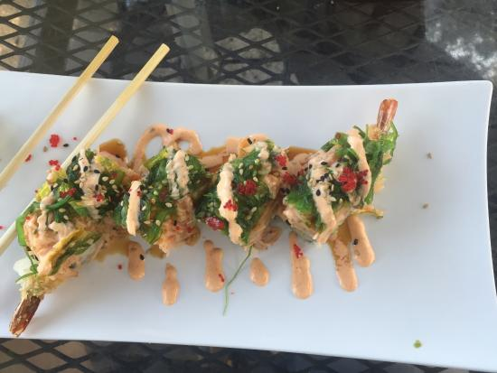 Fancy Q Sushi Bar & Grill: #11 special minus the sea bass