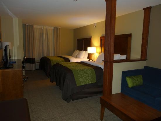 Suite Picture Of Comfort Inn Suites Sioux Falls Tripadvisor