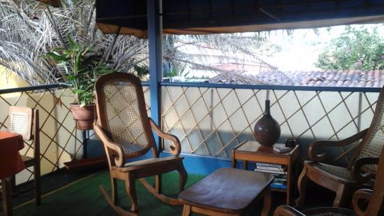 Hotel La Pyramide: Roof Tob Breakfast\Sitting area