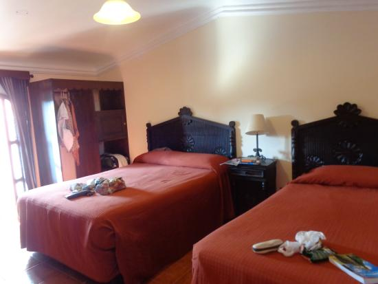Hotel Posada San Pedro: Double or triple room