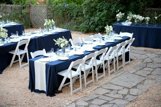 Monte Rio, CA: Wedding event setup