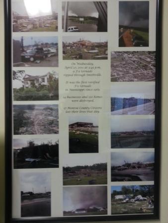 Amory, MS: Smithville tornado