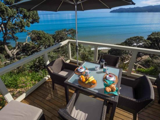Coopers Beach, Nova Zelândia: deck