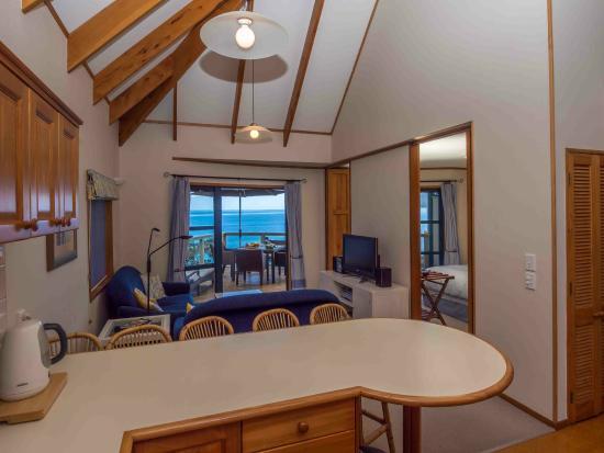 Coopers Beach, Nova Zelândia: Living room