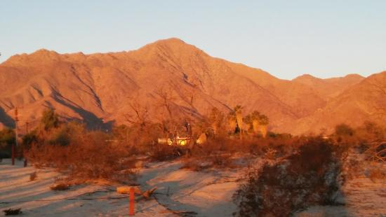 Boynton's - Hacienda del Sol: sunrise on the hills surrounding the hotel