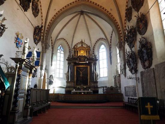 大聖堂内部 - タリン、ドーム教...